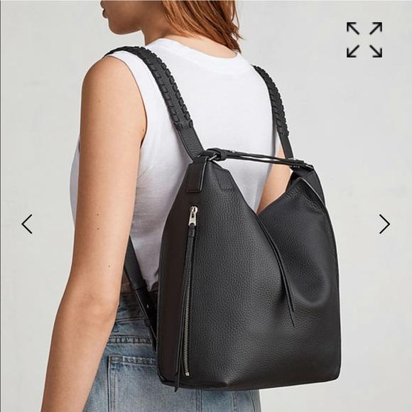 5831cbb28c All Saints Handbags - Allsaints Small Kita Convertible Leather Backpack